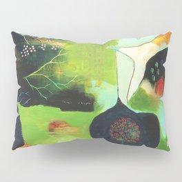 """Inner Whisper #1"" Original Painting by Flora Bowley Pillow Sham"