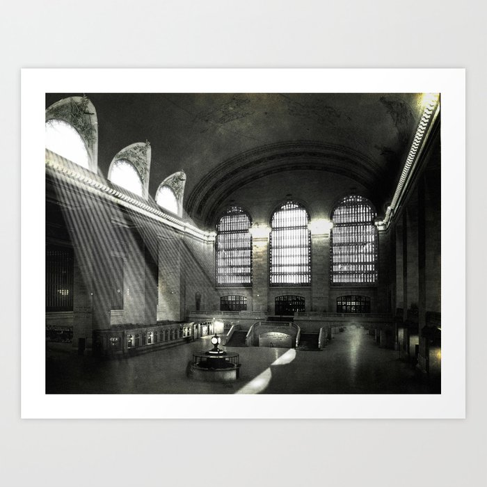 Grand Central Terminal, Empty Art Print
