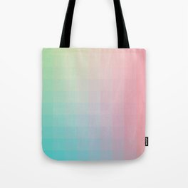 Lumen, Pink and Teal Tote Bag