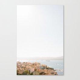 Saint Tropez Lookout Canvas Print