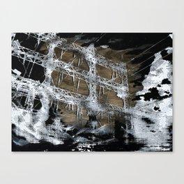 Black Clouds Canvas Print