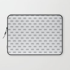 Open your eyes - Pattern Laptop Sleeve