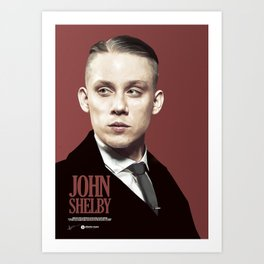JOHN SHELBY Art Print