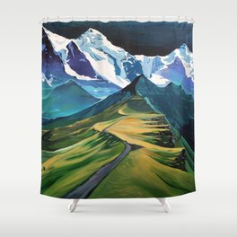 The Hike Shower Curtain