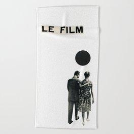 Le Film Beach Towel