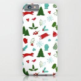 Winter Wonderland - Blue iPhone Case