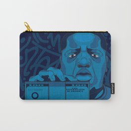 Biggie Smalls Hip Hop Print Carry-All Pouch
