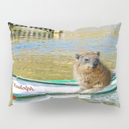 Rudolph at Sea Pillow Sham