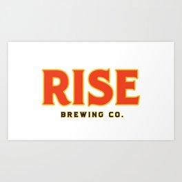 RISE Brewing Co. Art Print