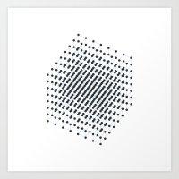 #512 2^9 – Geometry Daily Art Print