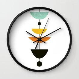 Mid Century Art Wall Clock