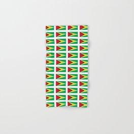 Flag of Guyana -Guyanese,Guyanes,Georgetown,Linden,Waiwai Hand & Bath Towel