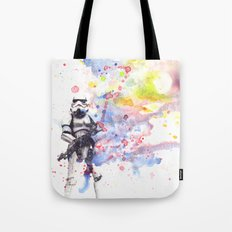 Storm Trooper from Star Wars Tote Bag