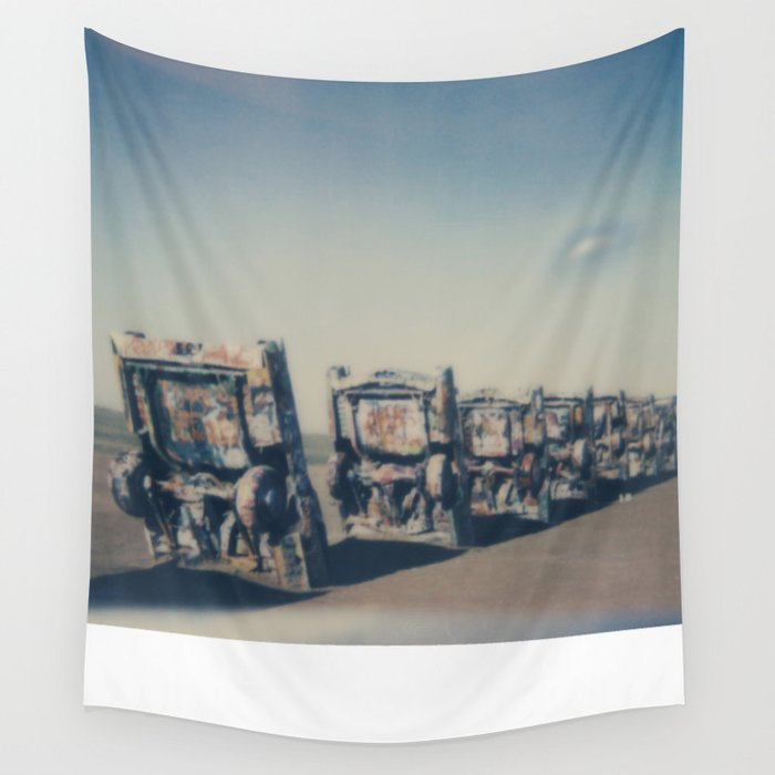 Cadillac Ranch - Route 66 Wall Tapestry