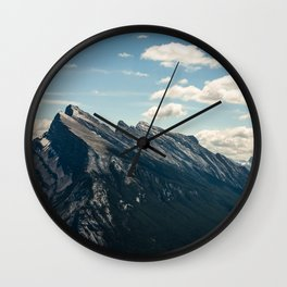 Mt Rundle Wall Clock