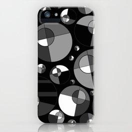 Bubble Grey 11 iPhone Case