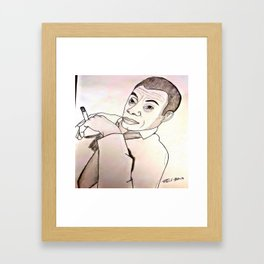 James Baldwin by Double R Framed Art Print