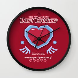 The Miraculous Heart Container Wall Clock