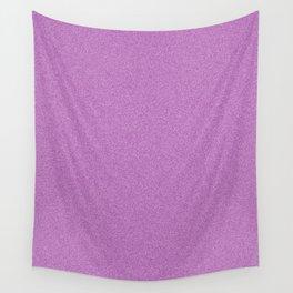 Dense Melange - White and Purple Violet Wall Tapestry