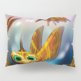 Three little fishies and a mama fishie too Pillow Sham