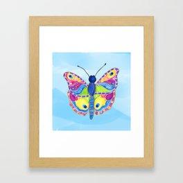 Butterfly II on a Summer Day Framed Art Print