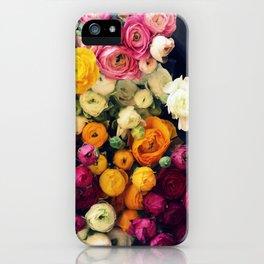 Loads of Ranunculus iPhone Case