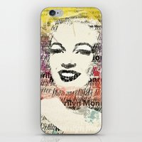 monroe iPhone & iPod Skins featuring MONROE by Smart Friend