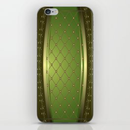 Diamond Tuck iPhone Skin