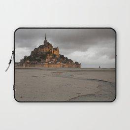 Golden Hour at Le Mont Saint-Michel Laptop Sleeve