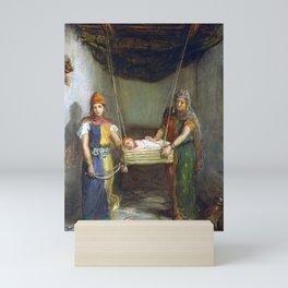 Théodore Chassériau Scene in the Jewish Quarter Mini Art Print