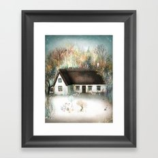 Peta's House Framed Art Print