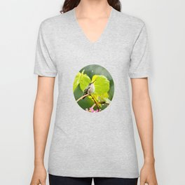 Hummingbird Shower Unisex V-Neck