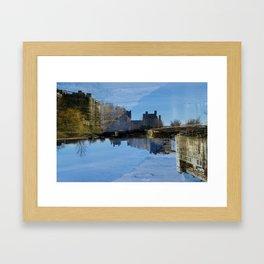 Along the Canal Framed Art Print