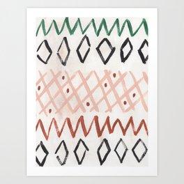 Haystack Art Print