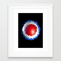 patriotic Framed Art Prints featuring Patriotic  by C R Clifton Art