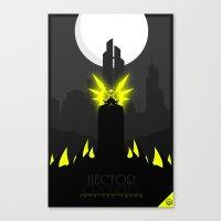 crowley Canvas Prints featuring Hector Crowley by Oblivion Creative