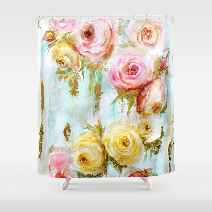 Lucia Shower Curtain By Amyelizabethfineart