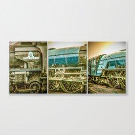 Tornado in blue bywhacky Canvas Print