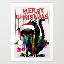 Evil Black Cat VS Christmas Tr...