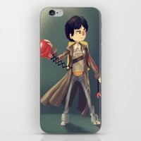 the goonies iPhone & iPod Skins featuring Data From The Goonies by Peerro
