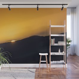 On the Edge of a Breakthrough Wall Mural