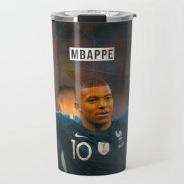 Kylian Mbappe Travel Mug