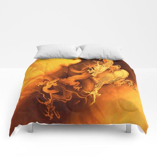 Destiny Of A Dragon Comforters