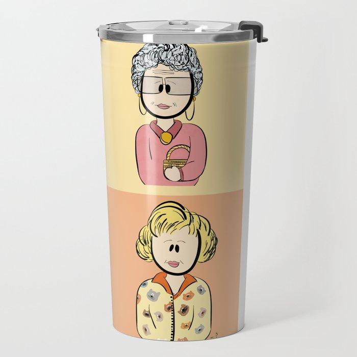 Golden Girls Character Combo Travel Mug