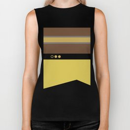 Geordie La Forge - Minimalist Star Trek TNG The Next Generation - 1701 D startrek Trektangles Biker Tank