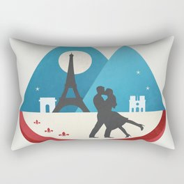 Le Baiser - French Kiss Rectangular Pillow