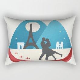 Le Baiser - French Kiss Rectangular Pillow