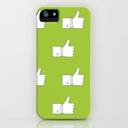 Thumbs up - Influencer's Paradise iPhone Case
