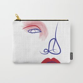 Eye of a Girl Carry-All Pouch