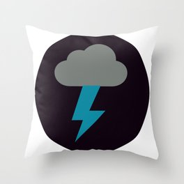 Lightning Strike Great For A Gift Throw Pillow
